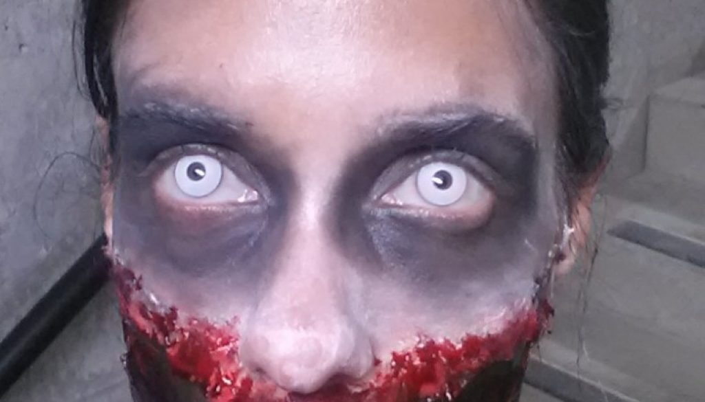Zombie-Look-White-Contacts
